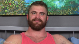 ginger bearded hunk likes getting his ass fucked