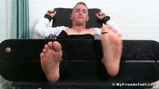 cole money tickles scott riley's bare feet