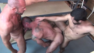 Vic Rocco and Jon Galt in Packin