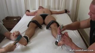 Scott Riley Tickle Tortured By Daxton