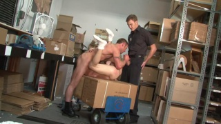 Hot daddy fucks his new employee