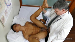daddy doctor fucks younger asian patient