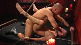 Scott DeMarco submits to Jessie Colter in dungeon