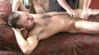 Caden gives a cumshot