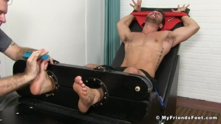 Gorgeous Blayne Tickled