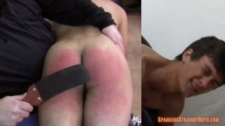 19-year-old frat boy gets his ass spanked