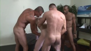 8 men gang bang blake daniels