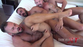 Antonio Miracle in group ass pounding