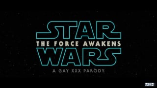 Star Wars (A Gay XXX Parody) with Aspen, Kaden Alexander & Griffin Barrows