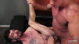 bicurious construction worker gets fucked in audition video
