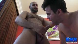 Leo Forte drills Beau Reed bareback