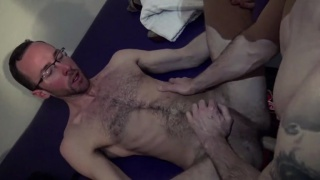 Fuck Him Like a Pussy with Danny Blue and Alex Hawk