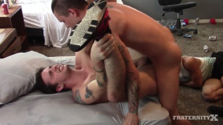 punk newbie gets his ass gang banged