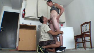 former air force soldier fucks a guy's ass