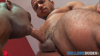 mike maverick finds cory woods' huge shaft challenging