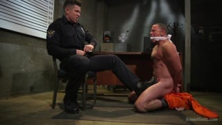 Punk Scared Straight by Perverted Prison guard