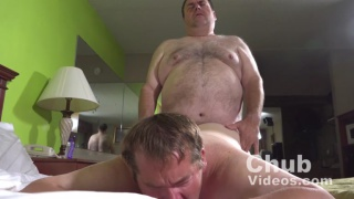 chub daddy fucks his big boy
