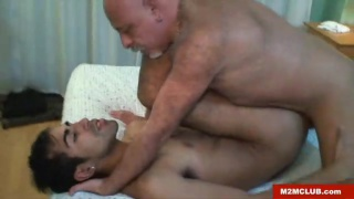 hot daddy gives the best erotic massage and more