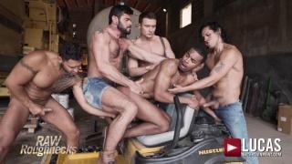 raw roughnecks with Viktor Rom, Mario Domenech and Alex Kof