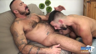 Teddy Torres and Alessio Romero go at like dogs in heat