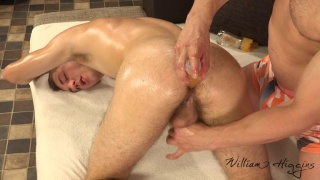 czech guy gets his ass toyed with