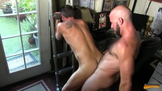 Damon Andros Bare fucks Christian Matthews