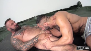 bareback bears Marc Angelo and Amir Badri