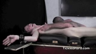 clayton gets tickled from head to toe