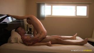 amateur guy blake rides izaak's huge cock