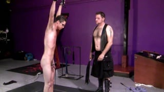 twink gets some serious kinky interrogation
