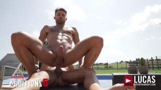 bareback auditions 5 with JAMES CASTLE and ALEJANDRO TORRES