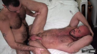 Matt Stevens and Stephen Hartefuck each other bareback