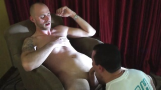 polish stud gets his dick sucked by a dude
