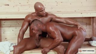 sauna flip fuckers Micah Brandt & Sean Zevran