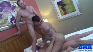 Tyler Reed and Jacob Durham share Beau Reed's ass