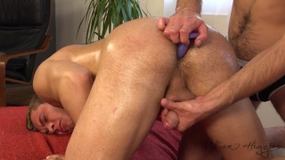 handsome straight guy ZDENEK TUMA gets dildo fucked