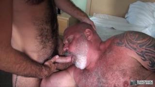 bear daddy Tony Da Rimma fucks Stephen Harte