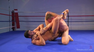 naked wrestlers Kaden Alexander vs. Pierce Hartman