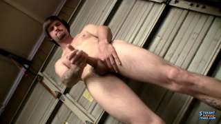 Pissing & Stroking With Hung Nolan