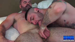 heavily inked bottom Teddy Bryce debut in first porno