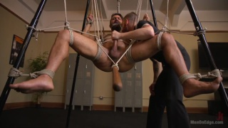 bound adam ramzi gets fleshjacked