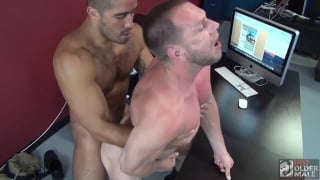 Trey Turner bare fucks Hans Berlin