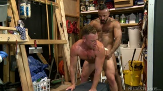 Alessio Romero and Saxon West flip flop fuck