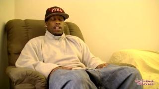 Big Black Guy James Gets Blown
