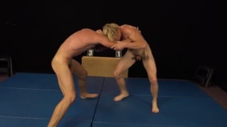 submission wrestling match with Miro Matejka and Kolja Muskanec