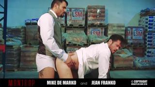 JEAN FRANKO fucks MIKE DE MARKO