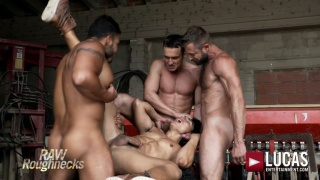 ken summers gets gang banged by Viktor Rom, Bulrog & Alex Kof