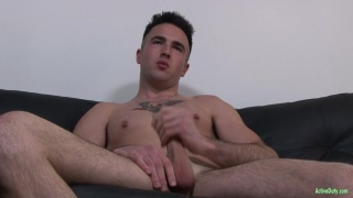sexy boy with big cock can cum twice