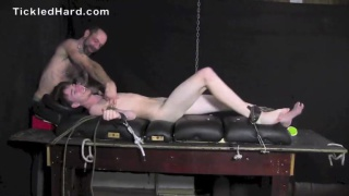 straight guy joel tied up and tickled