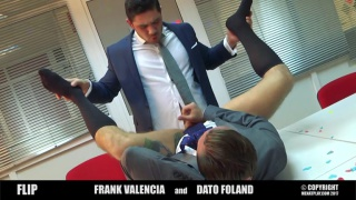 office flip fuckers with DATO FOLAND & FRANK VALENCIA